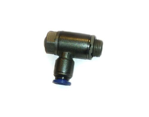 Strypbackventil 1/4 6mm slang