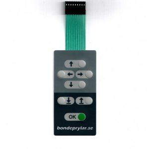 Knapp-panel joystick