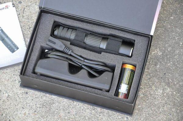 Trustfire A8 Ficklampa! testvinnare